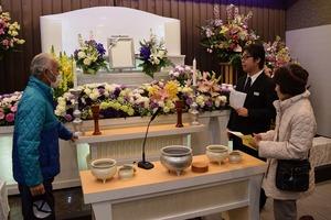 葬祭施設「JA虹のホールあずさがわ」オープン見学会
