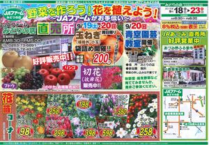 チラシ� 売り出し期間9月18日(金)〜23日(水)