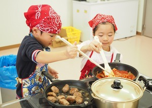 あづみのキッチン親子料理教室が大人気!!