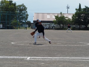 JAあづみ青壮年部代表でソフトボール大会に出場