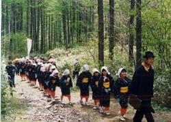 野麦峠では年1回、県史跡の指定区域約1.3kmの街道において記念山行が行われる。