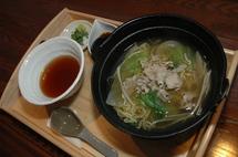 さっぱりスープが美味の豚じゃぶつけ麺